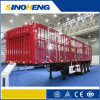 13m Tri-Axle Side Wall Semi Trailer for Bulk Cargo Transport