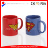 Color Ceramic Embossed Mug with Marvel Design