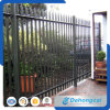 Steel Black Backyard Metal Fence