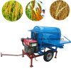 Rice Thresher Wheat Rice Maize Beans Huller Threshing Machine