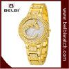 Belbi Luxury Crocodile Dial Design Diallady Wrist Analog Jewelry Wrist Quartz Watch