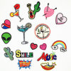 Factory Price Cheap DIY Custom Iron on Sew on Patch, Embroidery Patches