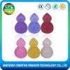 New Arrivals 100% Pure Glitter Gourd Shape 3D Silicone Makeup Sponge