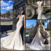 Mermaid Lace Bridal Gowns V-Neck Wedding Dresses Au342