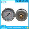 63mm Glycerin Liquid Pressure Gauge 10 Bar and Psi