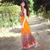 Hot Models Temperament Slim Bohemian Dress Beach Dress Was Thin Sleeveless Vest One-Piece Dress Printing