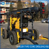 TRAILER TYPE CORE DRILLING RIG