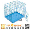 2017 New Pet Dog Crate with ABS Tray