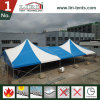 Outdoor High Peak Blue and White Color Cutomized Circus Marquee Tent for Sale