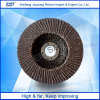 100*16mm Aluminium Oxide Grinding Radical Flap Disk for Sale