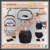 36 LED Camping Lantern USB Outlet Dynamo Cranking Handle Hanging Hook
