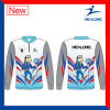 Healong Good Design for Any Logo Sportswear Sublimation Fishing Jersey Shirt