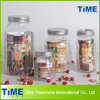 Hot Sale Round Shape Glass Food Storage Mason Jar
