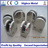 Stainless D Shape Round Glass Clamp for Handrail and Balustrade