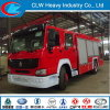 HOWO Fire Truck, Fire Fighting Truck with Fire Extinguisher, Fire Truck