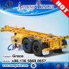 20 Feet 40 Feet Skeleton Semi Trailer, Skeletal Semi Trailer, Skeleton Container Carrier