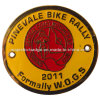 Customized Black Nickel Plating Sport Badge
