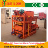 Semi-Automatic Concrete Hollow Block Forming Machine (QTJ4-26C)