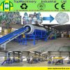 High Capacity Pet Crushing Line for Recycling Washing Plastic Bottles with Hot Washer