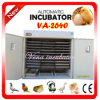 CE Approved and Professional Automatic Incubator with Free Insurance (VA-2640)