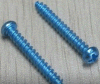 China High Quality Special Self-Tapping Screw Blue White Zinc Plated
