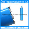 Brazed Welded Diamond Drilling Bit for Drilling Reinforced Concrete