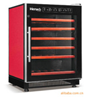 Modern Red Wine Display Cabinet with Compressor
