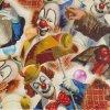 Tsau Top 0.5 Width Funny Clown Hydro Graphic Film