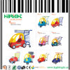 Plastic Shopping Cart Trolley with Baby Car for Kids Children