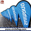 Outdoor Teardrop Feather Beach Flags/Flying Banners