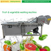 China Fruit Bubble Berries Apple Aloe Vera Washing Cleaning Machine