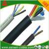 Copper Core PVC Insulation PVC Sheath Round Jointed Flexible Wire Cable