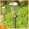 Outdoor Stainless Steel RGB LED Solar Garden Lawn Landscape Light