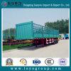 3 Axle Livestock Transporting Fence Semi Trailer for Sale