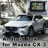 Android 5.1 Navigation Video Interface for Mazda Cx-3 Play Store Upgrade Touch Navigation, WiFi, Bt, Mirrorlink, HD 1080P, Google Map