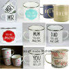 Enamel Mug6cm 7cm 8cm 9cm 10cm 11cm 12cm Beer Mug Coffee Cup