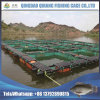 PE/Nylon Net Flexible Fish Farming HDPE Fish Farming Floating Pontoon in Lake