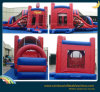 Inflatable Jumping Bouncer, Inflatable Super Man Castle Cartoon for Kids