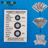 3 Dots Hic Humidity Indicator Card Blue to Pink
