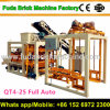 Qt4-26c Sri Lanka Ruwan Automatic Concrete Brick Machine