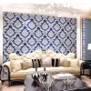 Beautiful Classic Damask PVC Wallpaper for Wall Decoration Wallpaper