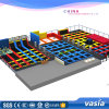 2017 Huaxia Trampoline Park Indoor Amusement Equipment