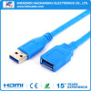 Factory Blue Extension USB Cable Male to Female