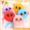 Lovely Round Shape Zipper Silicone Coin Bag