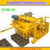 Qt40-3A Mini Moving Hydraulic Concrete Block Machine