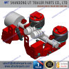 9 Tons Air Ride Suspension for 146mm Round Axle Beam with Lift Axle