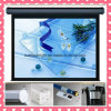 150′′ 150 Inch Projector Screen Motorized with Remote Control Electric Projection Screen