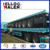 3 Axles 12 Wheels Flatbed Transport Trailer for Sale