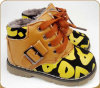 New Cheap Flat Children Boots with Stars Print