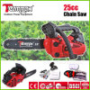 25.4cc Gasoline Chain Saw with Ce, GS, Euro II Cerificate Worthful